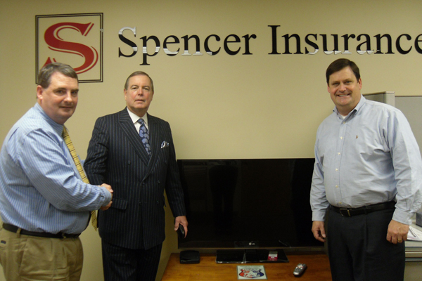 Spencer Insurance Grand Prize Referral Winner John Mervin