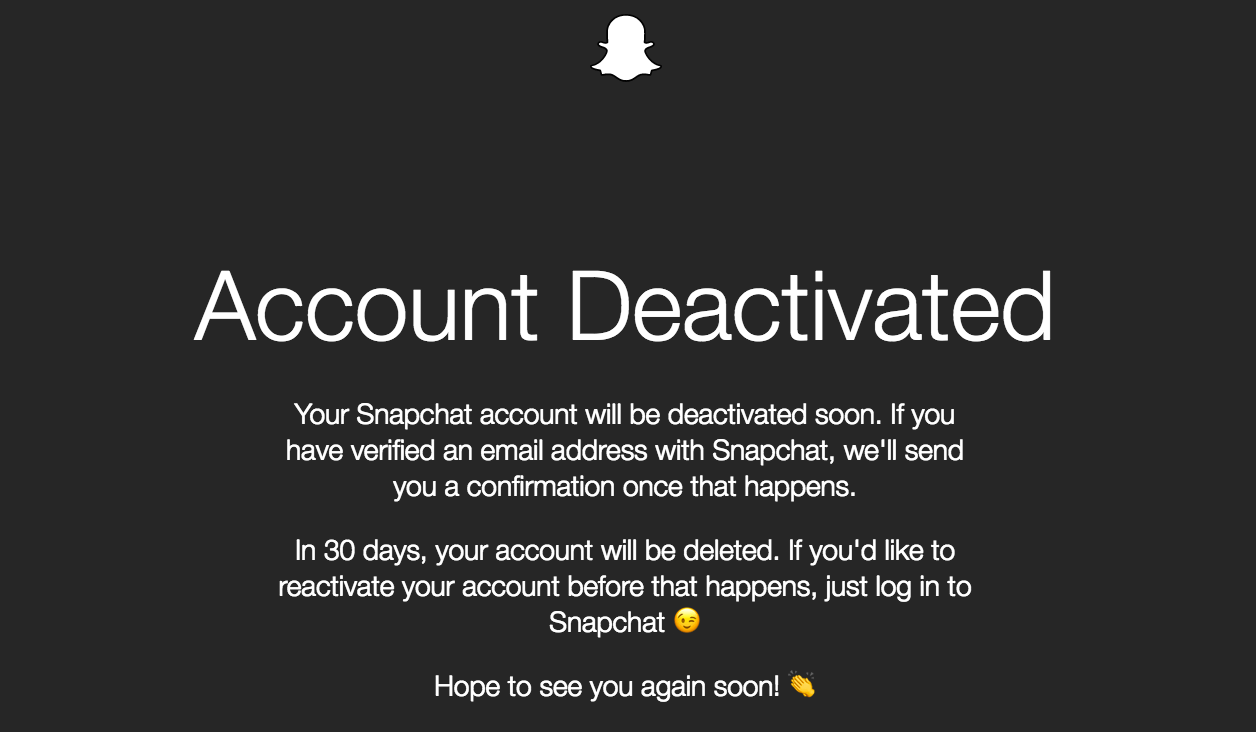 SnapChat Deleted on 2017-05-06