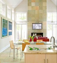 17+ Modern Fireplace Tile Ideas, Best Design !! - Spenc Design
