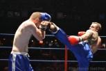 Yoaan Jador (Blue) vs Gary Brenon (Red)