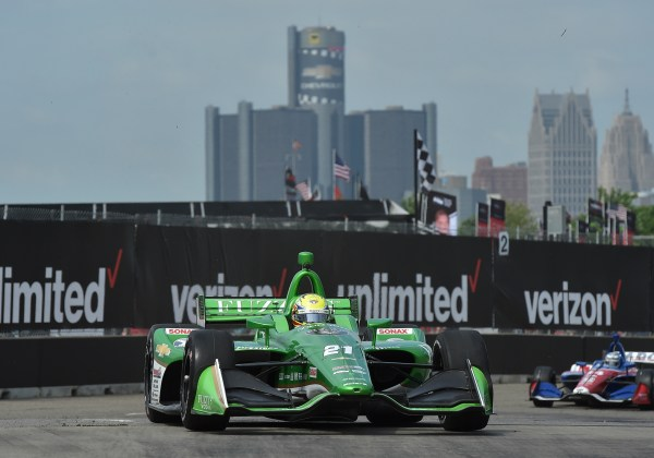 Top 10 Finish for Pigot in Race 1 of Detroit Doubleheader