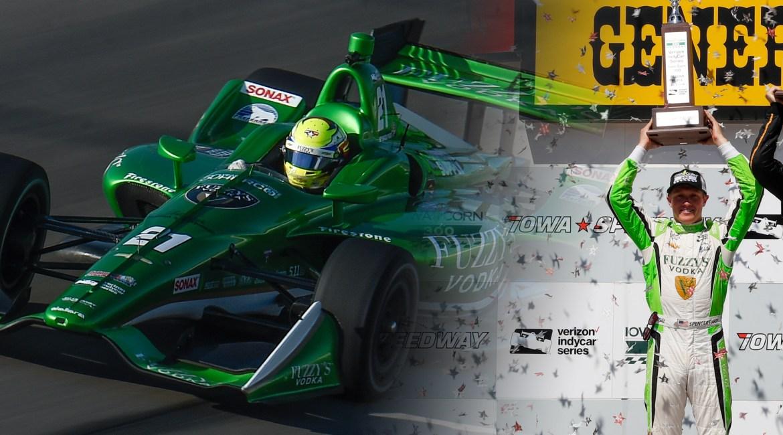 IndyCar Podium