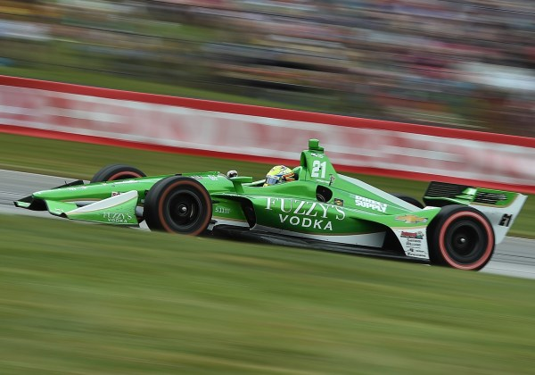 Caution-Free Race at Mid-Ohio Results in Hard-Fought Finish for Spencer Pigot