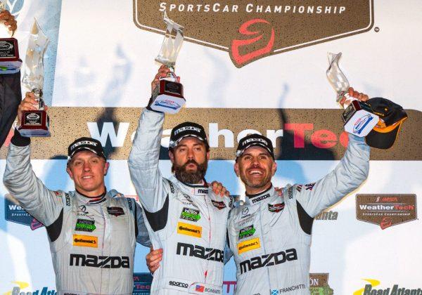 Pigot Helps Mazda to Podium Finish at Petit Le Mans