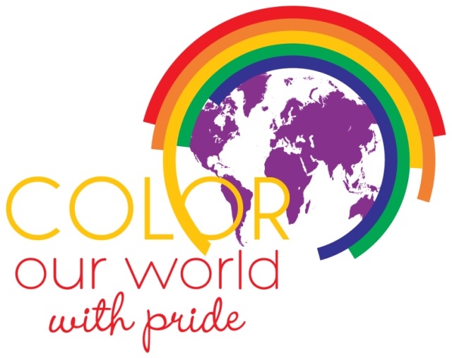 "The 2015 Spencer Pride Festival theme is ""Color Our World With Pride."""