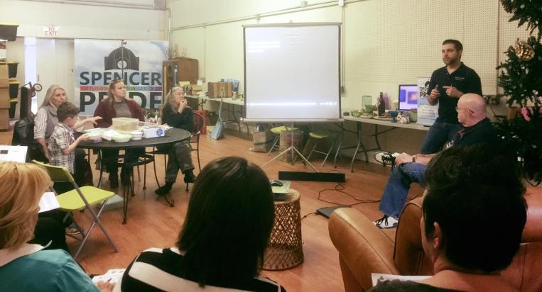 The March volunteer meeting was attended by nearly 20 individuals