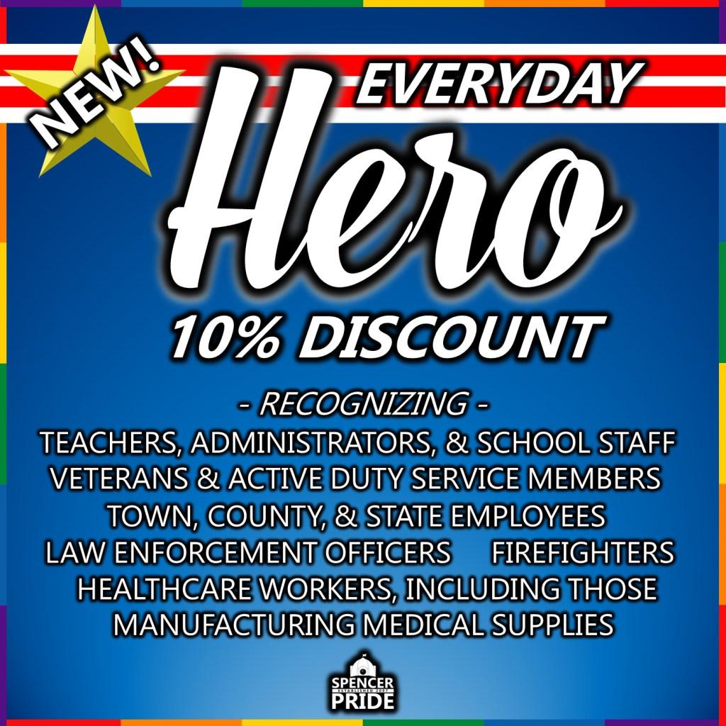 Everyday Hero Discount