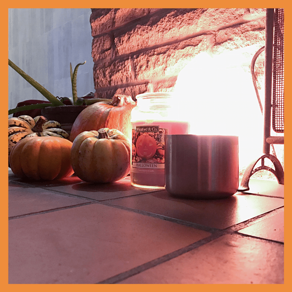 I love my autumn fireplace! its great to have an open fire on a chilly autumn evening