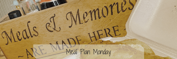 Meal Plan Monday. – 25th March