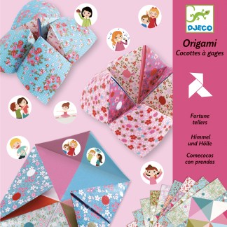 Djeco Origami Fortune Tellers – Flowers