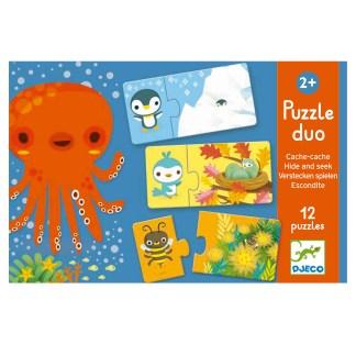 Djeco Puzzle Duo – Hide & Seek