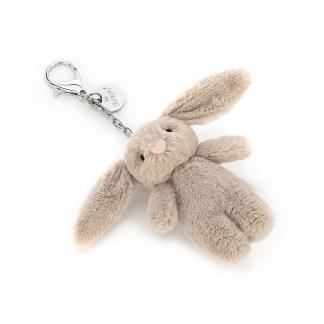 Jellycat Bashful Beige Bunny Bag Charm