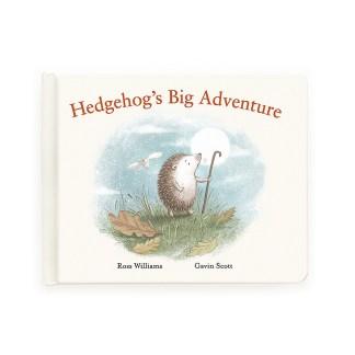 Jellycat Hedgehog's Big Adventure Book