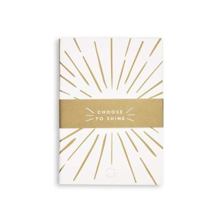 Katie Loxton Duo Pack Notebooks – White and Gold