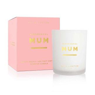Katie Loxton Sentiment Candle – Wonderful Mum