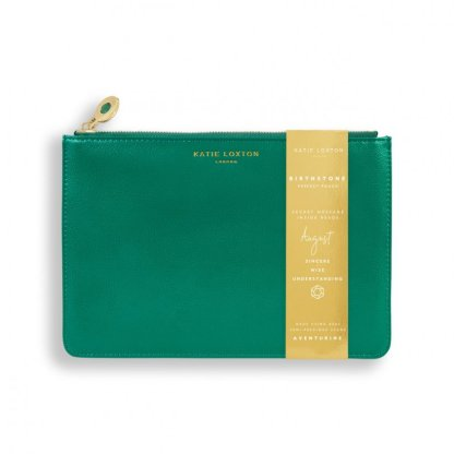Katie Loxton Birthstone Perfect Pouch – August