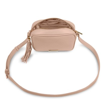 Katie Loxton Sophia Tassel Crossbody Bag – Pale Pink