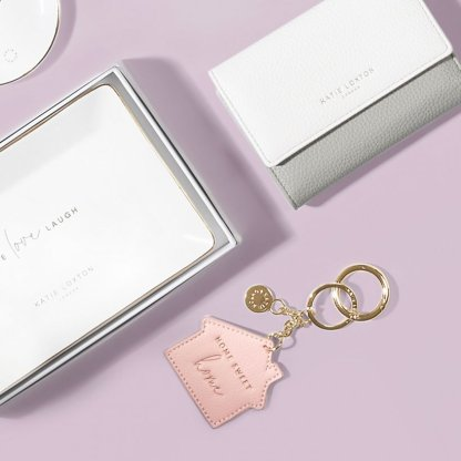 Katie Loxton Chain Keyring – Home Sweet Home