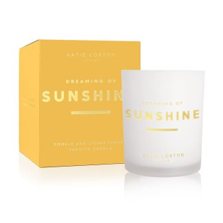 Katie Loxton Sentiment Candle – Dreaming of Sunshine