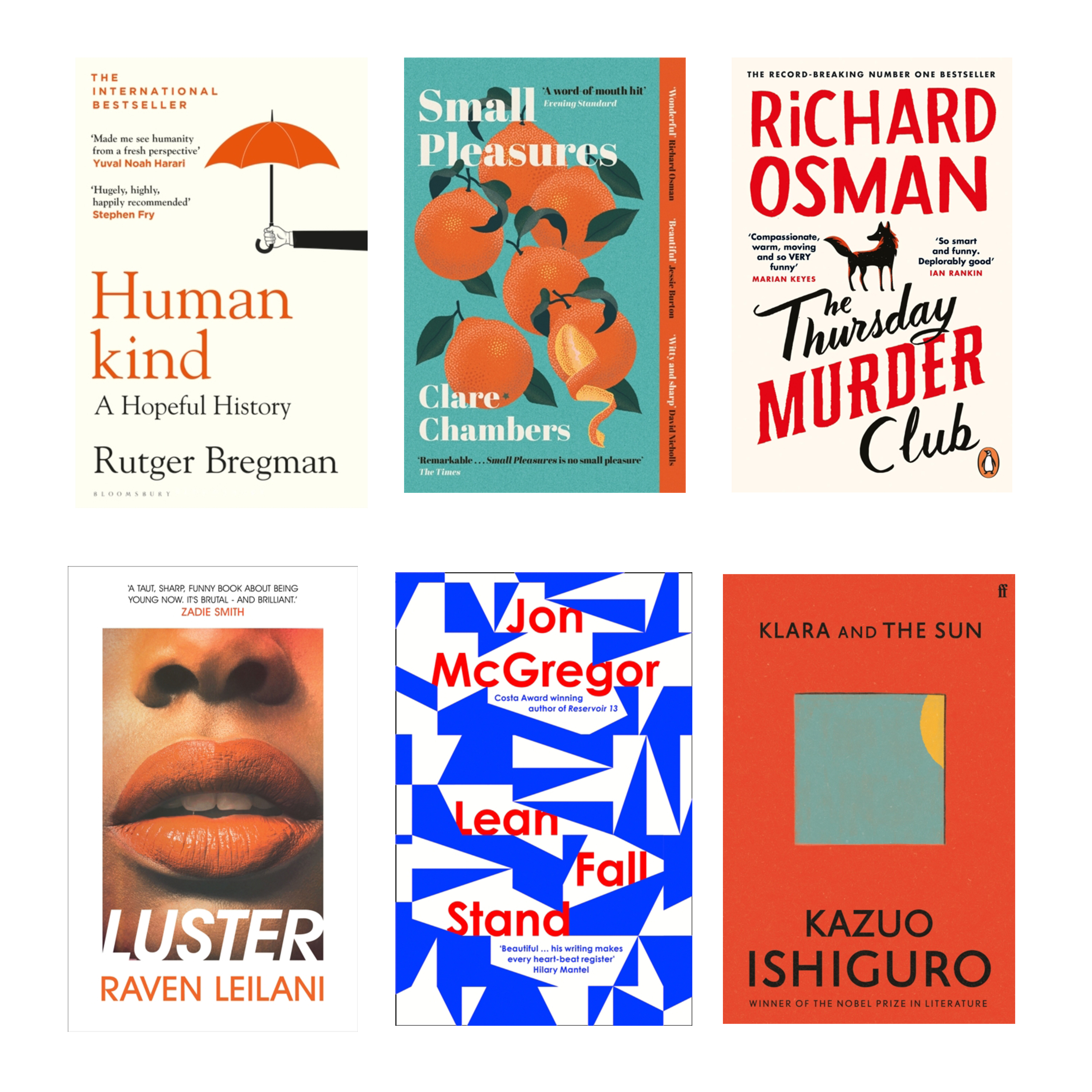 Six Reads to Pack in Your Staycation Suitcase