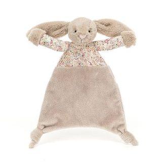 Jellycat Blossom Bea Beige Bunny Comforter