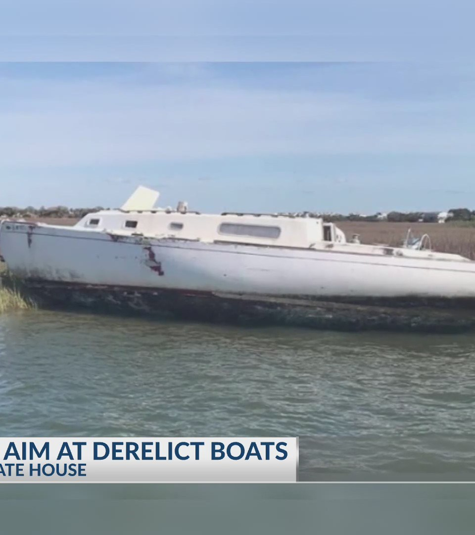 Count on News 2: Bill taking aim at abandoned and derelict boats in local waterways passes SC House