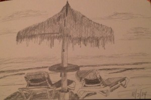 Palapa drawing