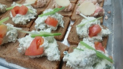 Cream Cheese & Cucumber Sandwiches