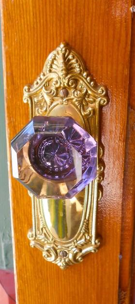 Cool doorknob in Jerome