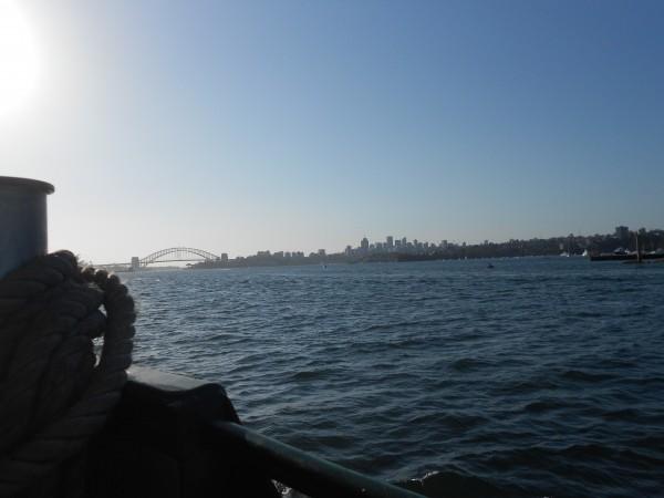 Ferry in Sydney Australia