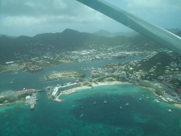 Flight from St. Maarten to St. Barts
