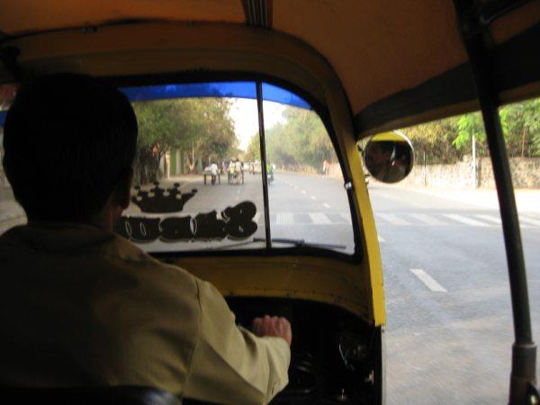 rickshaw in pune, india