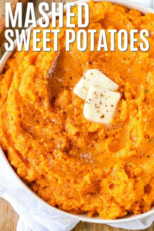 How To Peel Sweet Potatoes : sweet, potatoes, Mashed, Sweet, Potatoes, Spend, Pennies