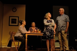 Denise Norman, Jillian Rees-Brown, Charlotte Moore, Rick Jones (photo by Jamie Thompson)