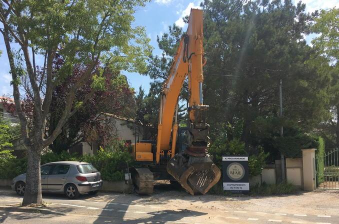 Villa Réale début travaux 29_juin_2018
