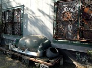 I think this was the front of a metalsmith's workshop