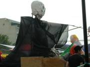 One of the many floats