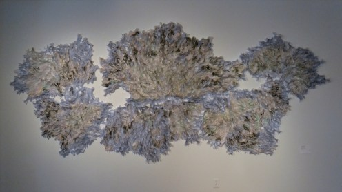 "More amazingness at the Society for Contemporary Craft - Julie Abijanac's ""Disease mapping"""