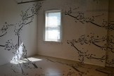 "The installation that blew me away at the Mattress Factory (Parastou Forouhar's ""Written Room"")"
