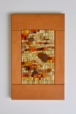 harvest mosaic - smalti beach glass