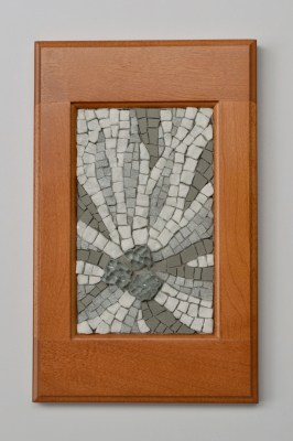 """Thaw"" mosaic by Julie Sperling"