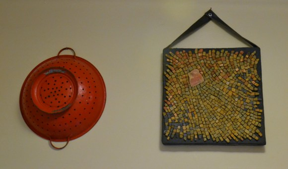 Looks perfect hanging next to my trusty red colander!