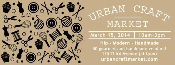urban craft - march 15