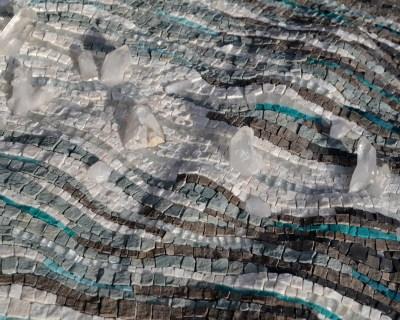 Sea ice mosaic by Julie Sperling (detail)