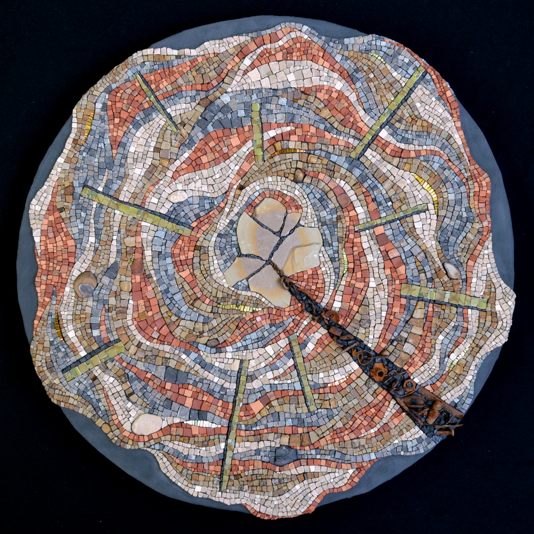 climate science consensus pie graph mosaic by Julie Sperling