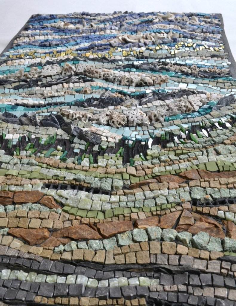 Mosaic about renewable energy by Julie Sperling