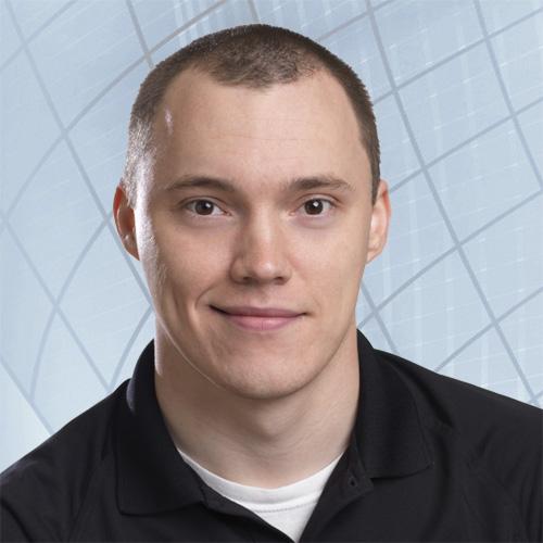 Speros IT Technician Andrew Jenkins