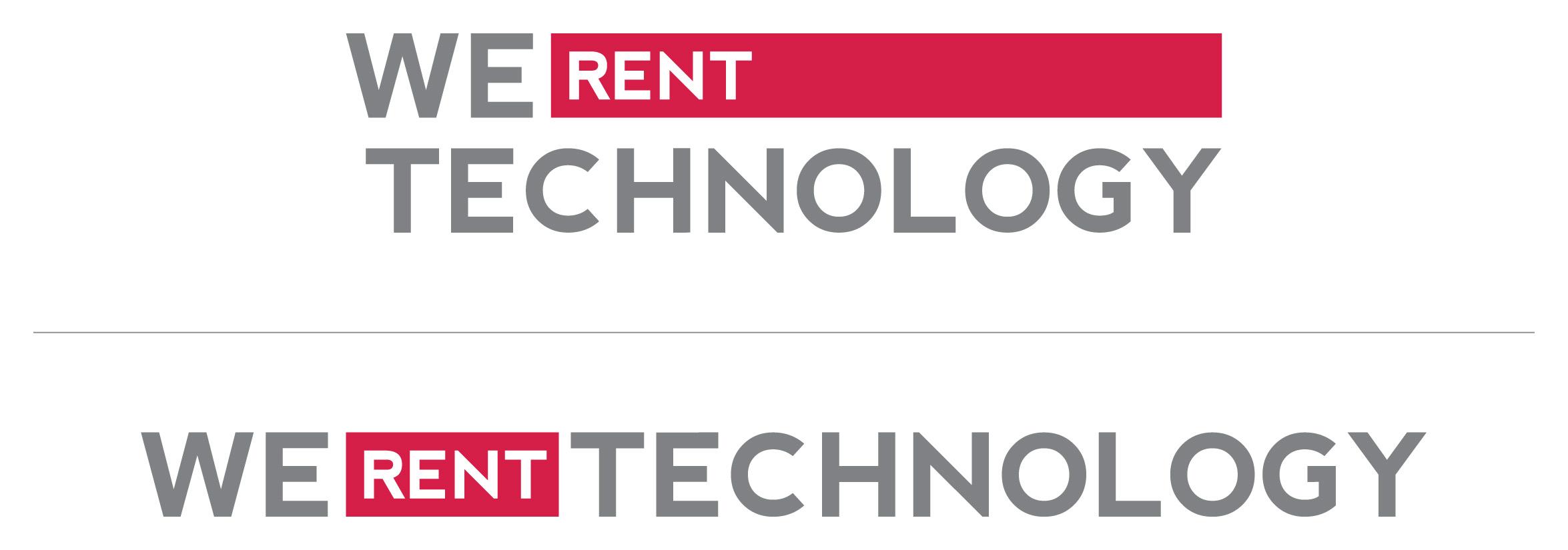 We Rent Technology Logos