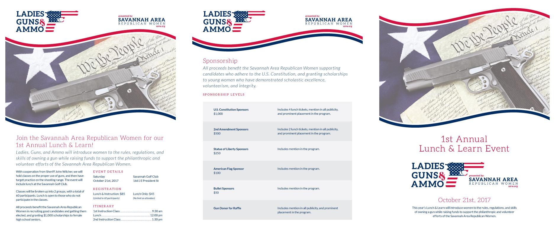 Savannah Area Republican Women - Speros Graphic Design - Savannah
