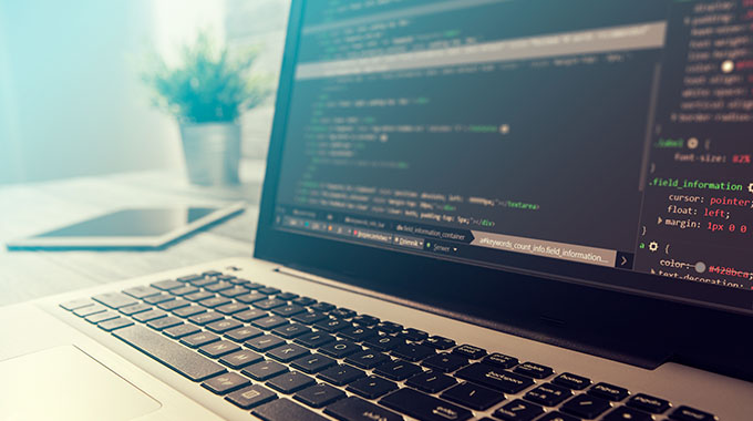 Web design code displayed on a website - Speros - Savannah